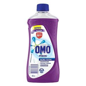 Limpador de Piso Desinfetante Omo Lavanda 900ml - Limpador de Piso Omo