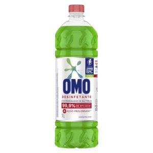 Desinfetante Omo Uso Geral Herbal 1L - Desinfetante Omo