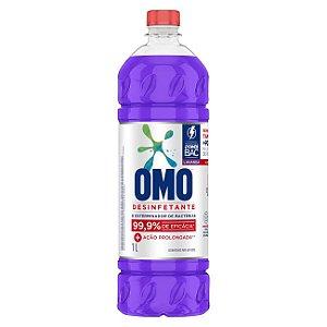 Desinfetante Omo Uso Geral Lavanda 1L - Desinfetante Omo