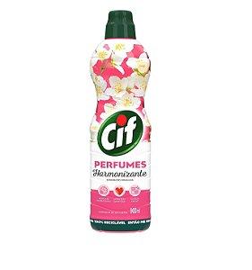 Limpador uso Geral Cif Perfumes Harmonizante 900mL - Limpador Cif Jasmim do Himalaia