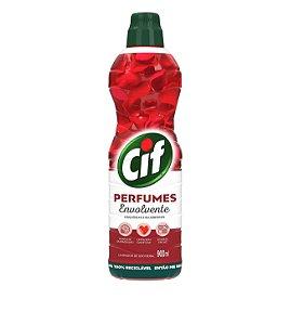 Limpador uso Geral Cif Perfumes Envolvente 900mL - Limpador Cif Orquídeas e Blueberries