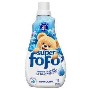 Amaciante Concentrado Fofo Tradicional 500 ml - Amaciante Fofo