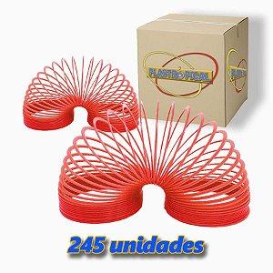 Caixa de Mola Maluca Grande Vermelho c/ 245 Unidades
