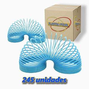 Caixa de Mola Maluca Grande Azul Claro c/ 245 Unidades