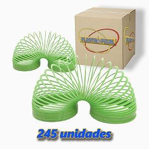 Caixa de Mola Maluca Grande Verde c/ 245 Unidades
