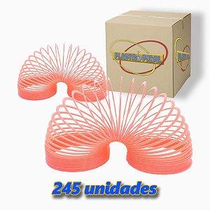 Caixa de Mola Maluca Grande Rosa c/ 245 Unidades