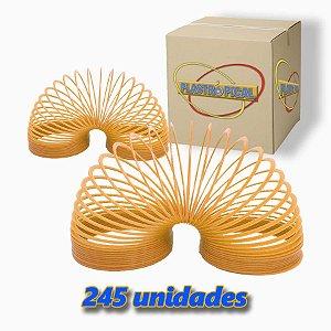 Caixa de Mola Maluca Grande Dourada  c/ 245 Unidades