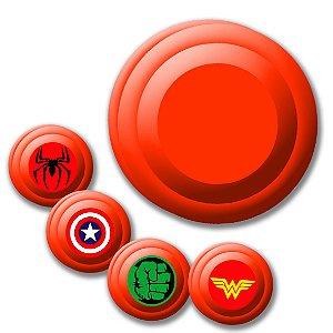 Yoyo Solapa Plastico de Alta Qualidade Vermelho Unidade