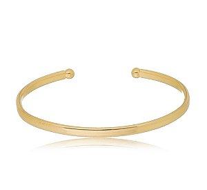 Bracelete Laura achatado