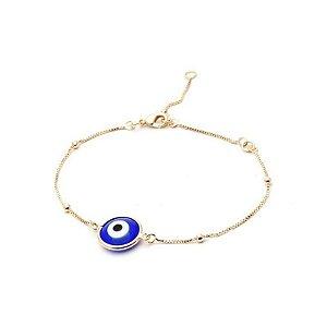 Pulseira Olho Grego mini esferas