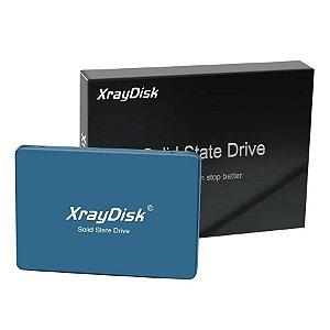 SSD XRAYDISK 120GB Sata 3 Leitura: 535MB/s e Gravações: 500MB/s