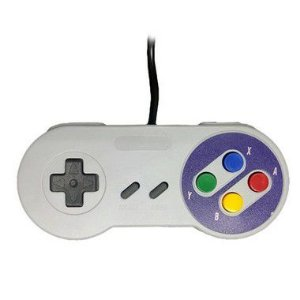 Controle Super Nintendo Usb Pc Snes Joystick Recalbox TV Box