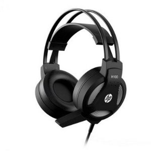 Headset Gamer HP H100 Compatível Com Celular PC PS4 Xbox One