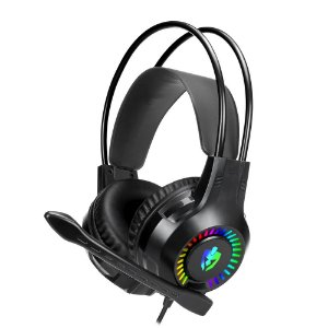 Headset Gamer Rgb Apolo Eg-304 Evolut 2x 3,5mm + Usb P/ Led PS4 PS5 Celular Xbox