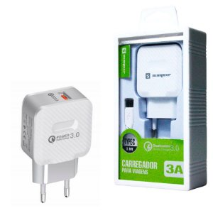 Carregador Turbo Usb Tipo C Quick Charge 3.0 Carga Rápida