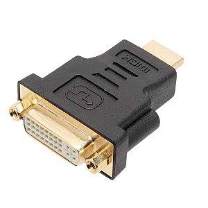 Cabo Adaptador DVI-D Macho x HDMI Macho 3m 5+