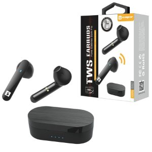 FONE DE OUVIDO BLUETOOTH ESTÉREO SEM FIO TOUCH TWS EARBUDS SLY-22 SUMEXR