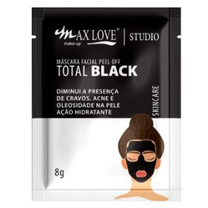 mascara facial sache black max love