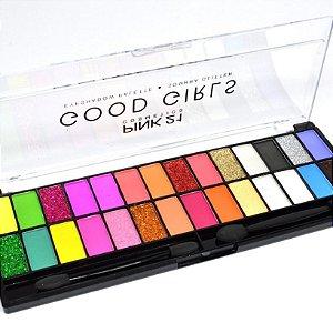 paleta de sombra pink 21 good girl - cor 2