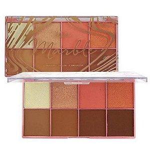 paleta de contorno-blush-iluminador marble - my life