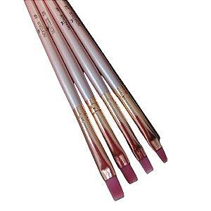 kit pincel para unhas- fada color