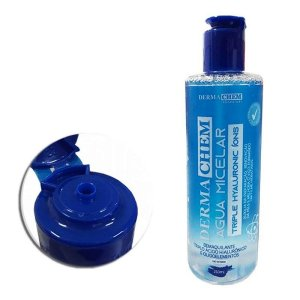 agua micelar triple hialuronico ions derma chem