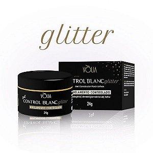 Gel Volia Control Blanc Glitter