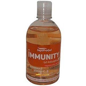 Alcool em Gel Antisséptico 70º Immunity