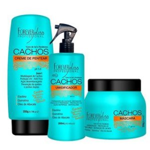 Forever Liss Cachos Kit Tratamento Completo