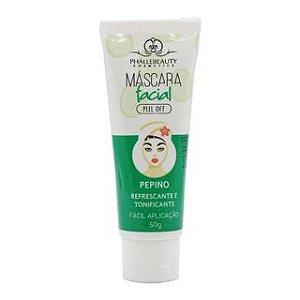 Máscara Facial Bisnaga Phállebeauty Pepino