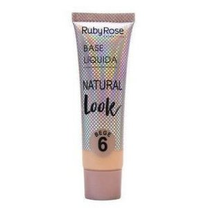 Base Líquida natural look -BEGE 6
