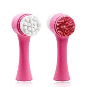 Escova de Limpeza e Massagem Facial Beauty Brush