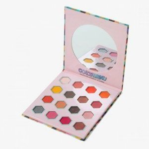 Paleta de Sombra 16 Cores Color Menu - Mylife