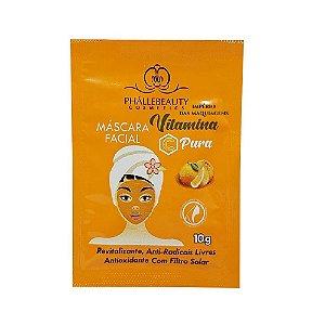 Máscara Facial Vitamina C Pura Phállebeauty