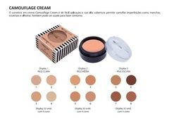 Camouflage Cream - Corretivo em Creme de Alta Cobertura