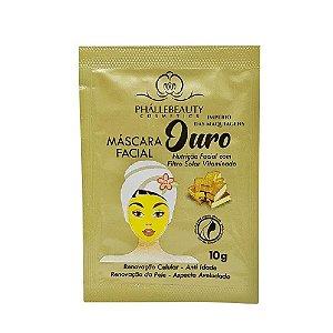 Máscara Facial Phállebeauty Ouro