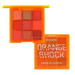 Paleta De Sombras Orange Shock (B) - SP COLORS