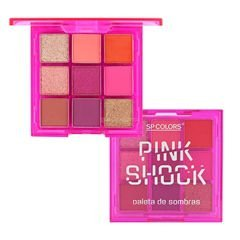 Paleta De Sombras Pink Shock  (C) - SP COLORS