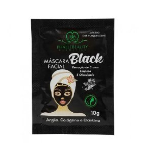 Máscara Facial Black Phállebeauty