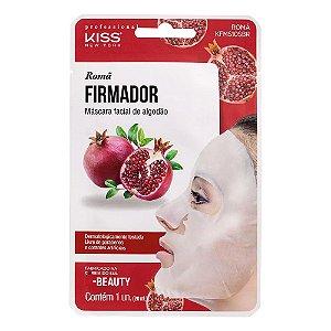 Máscara Facial Kiss NY - Máscara Facial de Algodão Romã