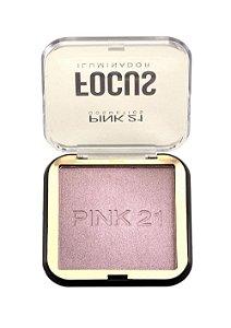 Iluminador Focus Pink 21 Cosmetics COR 02