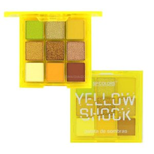 Paleta De Sombras Yellow Shock (A) - SP COLORS