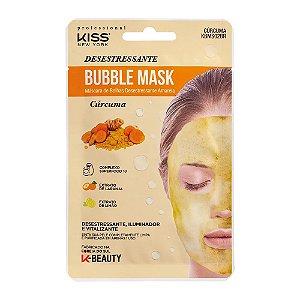 Máscara Facial Kiss NY – Bubble Mask Cúrcuma