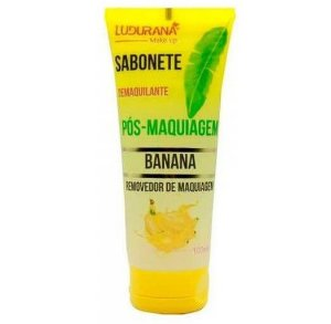 Sabonete Demaquilante Pós-Maquiagem Banana - Ludurana Make Up