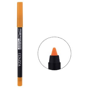 Lápis Colorido Delineador Para Olhos à Prova D'água Fenzza Laranja