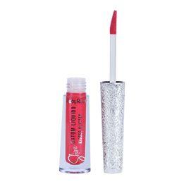 Batom Líquido Shine - Kisses Glitter 355 - Ruby Rose
