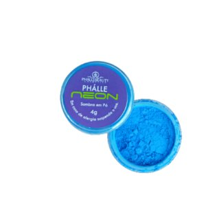Tinta Neon Em Pó Azul Phállebeauty