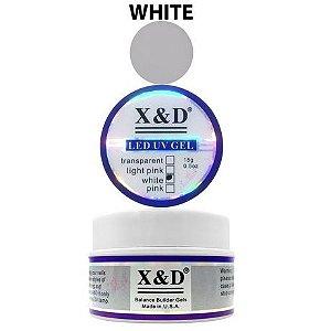 Gel Para Alongamento de Unhas White X&D