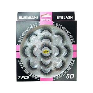 Cartela com 7 Pares de Cílios Blue Magpie BM19