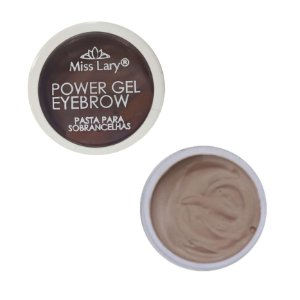 Gel Para Sobrancelha Miss Lary Power Gel - Cor CLARA